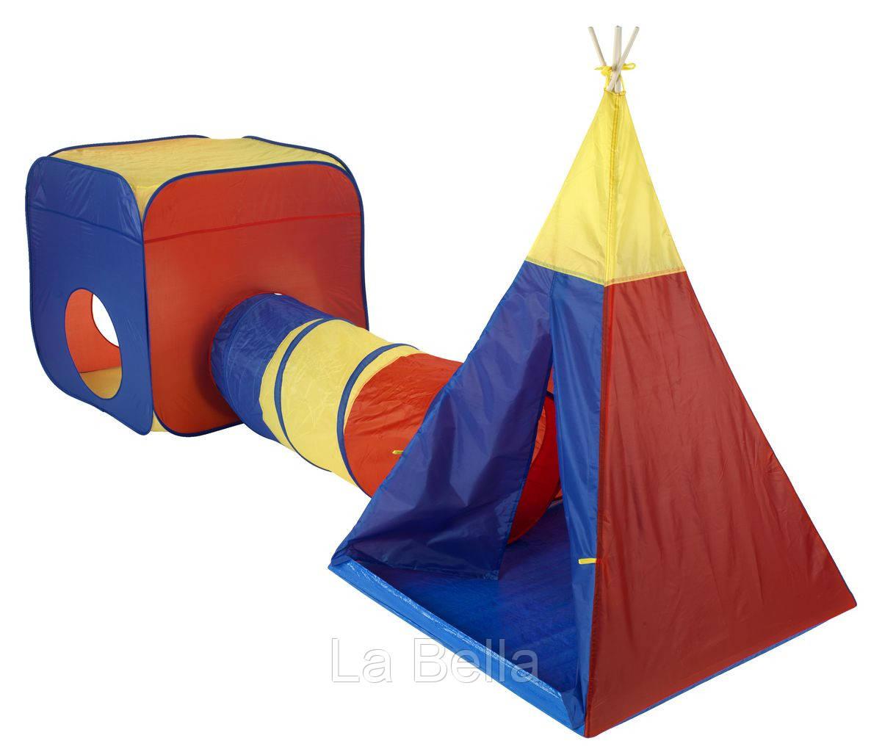 Игровая палатка  с тоннелем