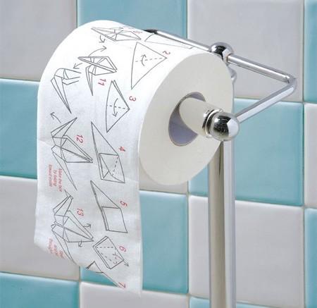 Принтер, печатающий новости на туалетной бумаге