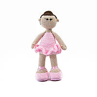 Вязаная кукла Прима Балерина