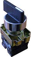 XB2-BJ53 Кнопка пов. 3-х поз.с сомовозр Удл. ручка