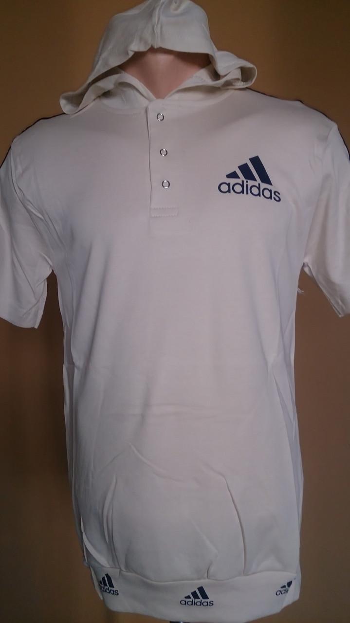 Футболка с капюшоном адидас - Alfie Shop  1ccc3eaf9ec47