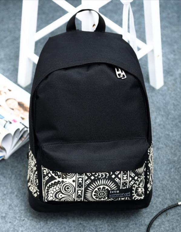 Модный рюкзак с абстракцией!