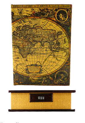 Шкатулка-сейф Карта 22см