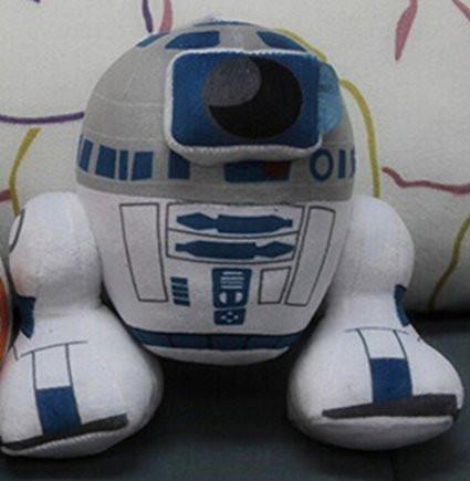 Мягкая игрушка робот R2D2
