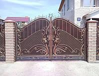 Ворота кованые распашные