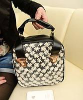 Модная сумка-рюкзак в ромашку!