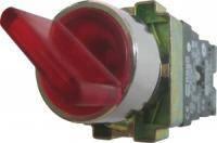XB2-BK2465 Кнопка красная поворотная 2-х поз. с подсветкой