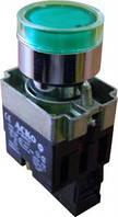 XB2-BW3371 Кнопка с подсветкой зеленая