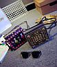 Сумка клатч-скринька з принтом, фото 3