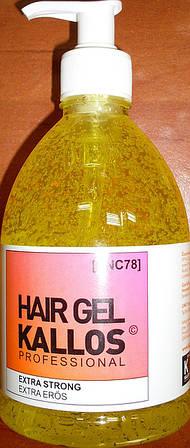 Kallos Hair Gel Extra Strong 0.500 мл