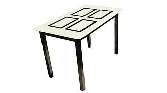 Скляний стіл Монарх Бридж