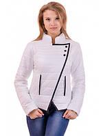 """Демисезонная белая куртка """"Глория"""", фото 1"""
