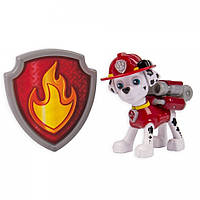 Paw Patrol - Action Pack Pup & Badge - Marshall