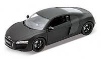 Автомодель (1:24) Audi R8 matte-black