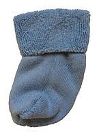 Махровые носки для новорожденных голубого цвета, фото 1