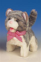 Интерактивная игрушка Jamina Grey Kitten