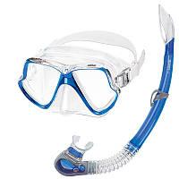 Набор для подводного плавания Mares Wahoo синий