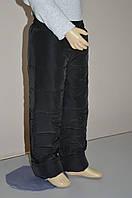 Зимние детские штаны Черные (Размеры, см: 98, 104, 110)