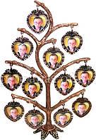 Фоторамка родовое дерево на 12 фото