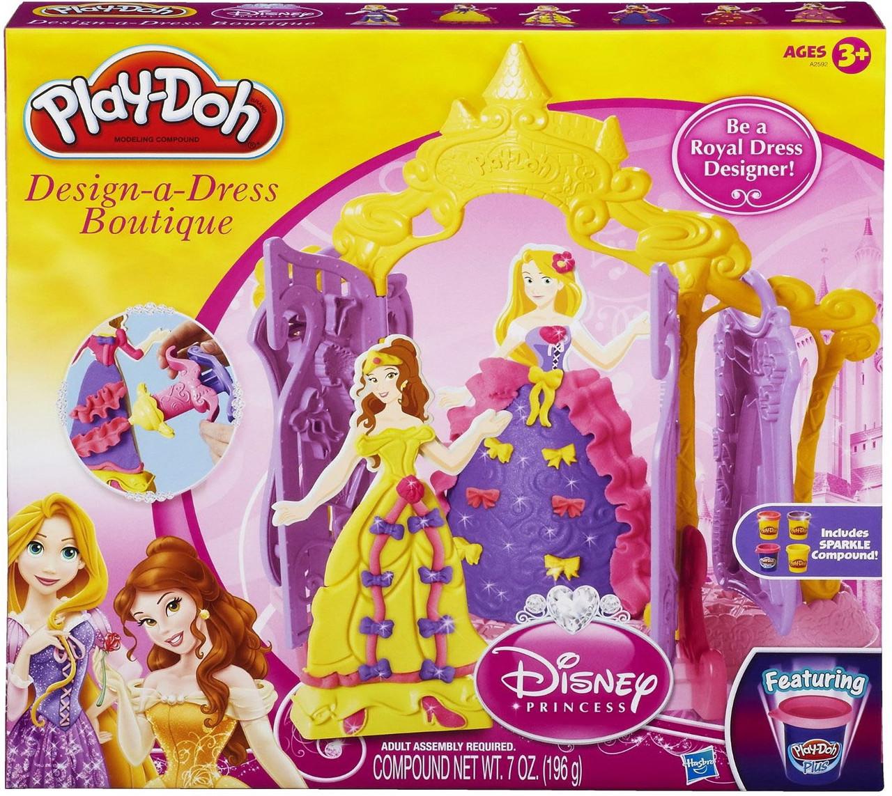 Пластилін Play-Doh Бутік для принцес Play Doh A2592 (Пластилин Плей Дог Бутие для принцесс)