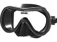 Маска для плавания Seac Sub Salina MD чёрная