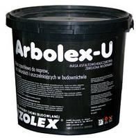 АРБОЛЕКС-У бітумно-каучукова мастика для ремонта і герметизації