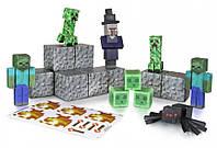 Майнкрафт бумажный набор «Вражеские мобы» (Minecraft Papercraft Hostile Mobs Set, Over 30 Piece)
