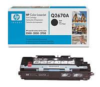 Заправка картриджей HP Q2670A для принтера HP CLJ 3500/3550/3700