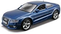 Автомодель Bburago - AUDI A5 (ассорти синий металлик, красный, 1:32)