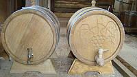 Бочки дубовые для вина, коньяка (нерж) 50л