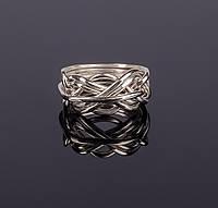 Женское серебряное кольцо головоломка от Wickerring, фото 1