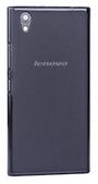 Силиконовый прозрачно-черный чехол для Lenovo P70