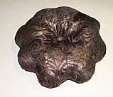 Подушка Цветок бронза, фото 3