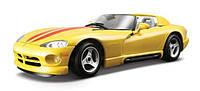 Автомодель Bburago - DODGE VIPER RT/10 (ассорти белый, желтый, 1:24)