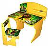 Стол Парта регулируемая для ребенка со стулом BABY ELIT Мадагаскар со стулом