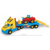Машинка игрушечная Тягач-эвакуатор спецтехники серии Super Truck 36520 Wader