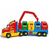 Машинка игрушечная Мусоровоз большой серии Super Truck 36530 Wader