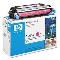 Заправка картриджей HP Q5953A принтера HP Color LaserJet 4700