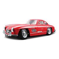 Автомодель Bburago - MERCEDES-BENZ 300 SL (1954) (ассорти красный, серебристый, 1:24)