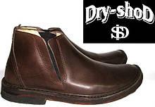 Ботинки мужские кожаные демисезонные Dry-shoD, Италия, original (40-42)