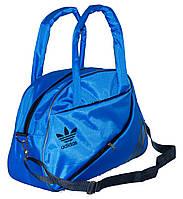 Спортивная сумка для фитнеса Adidas, Адидас синяя ( код: IBS004Z )