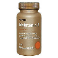 Melatonin 5 GNC, 60 таблеток