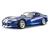 Авто-конструктор Bburago - DODGE VIPER GTS COUPE (1996) (синий, 1:24)