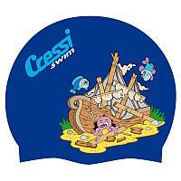 Детские шапочки для бассейна Cressi Sub Junior Fantasy Silicone Cap