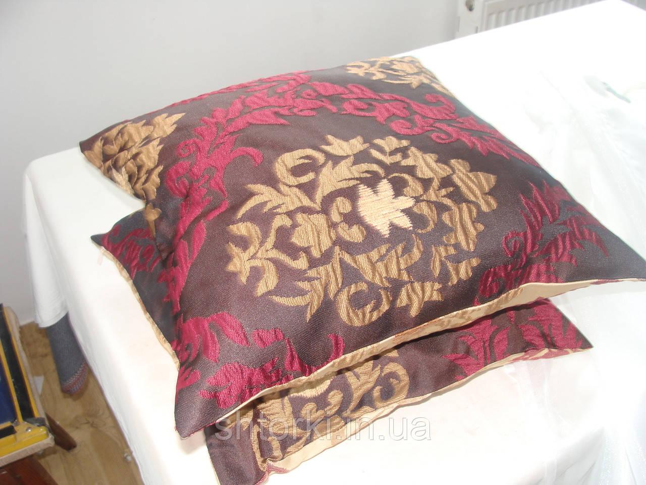 Комплект подушек 2шт,40х40 разные цвета