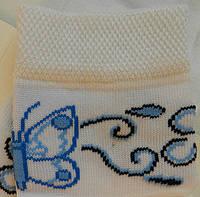 Комплект для дівчаток: футболки, шкарпетки (колір білий), ріст 86-92 см