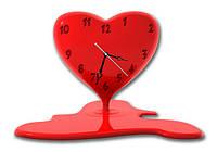 Часы настенные фигурные 30*45 см - Жажда встречи