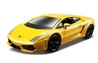 Авто-конструктор Bburago - LAMBORGHINI GALLARDO LP560-4 (2008) (красный, желтый металлик, 1:32)