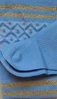 Комплект для девочек: лосины, носки (цвет голубой), рост 86-92 см