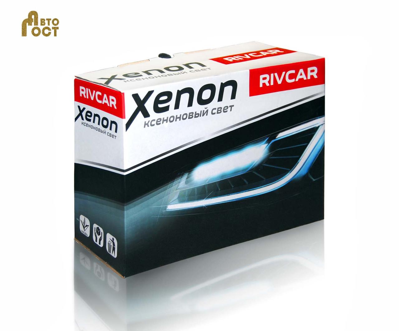 Комплект биксенона Rivcar 35 Вт. H4